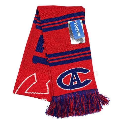 Montreal Canadiens Retro Scarf
