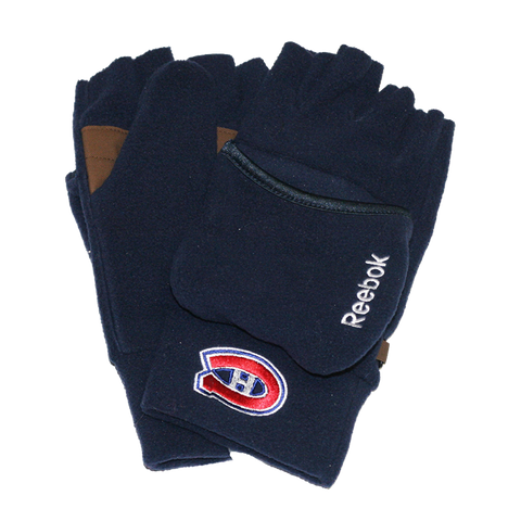 Montreal Canadiens Men's Convertible Gloves