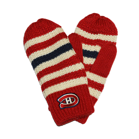 Montreal Canadiens Women's Mittens