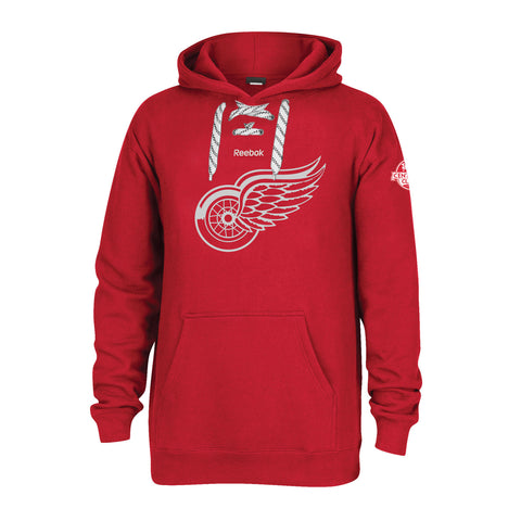 Detroit Red Wings Centennial Crest Pullover Hood