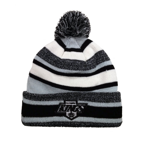 Los Angeles Kings  Vintage Fleece Pom Toque