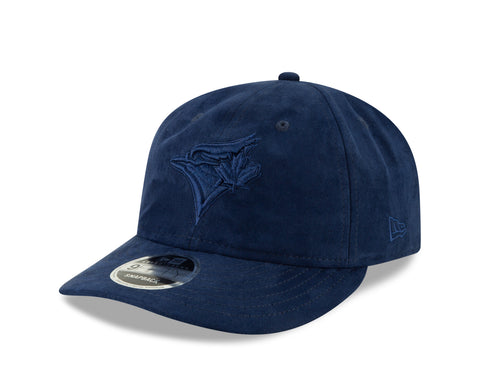 Women's Toronto Blue Jays MLB Spring Suede Retro Crown True Navy 9FIFTY Cap