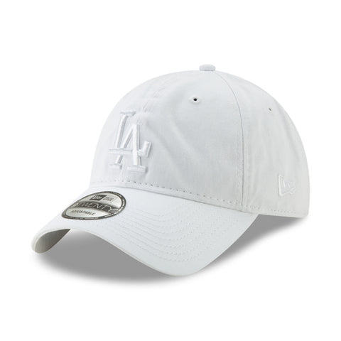 Los Angeles Dodgers MLB Core Classic 9TWENTY White Tonal Cap
