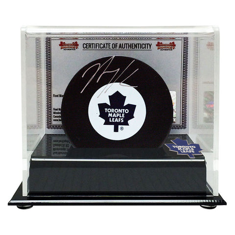 Nazem Kadri Signed Toronto Maple Leafs Puck