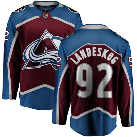 Gabriel Landeskog Colorado Avalanche NHL Fanatics Breakaway Home Jersey