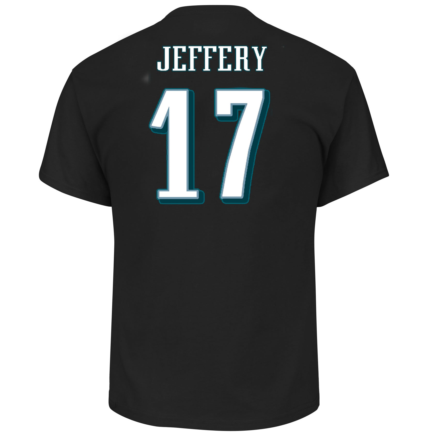 4c0d60a4 Philadelphia Eagles Alshon Jeffery #17 Black Eligible Receiver T-Shirt