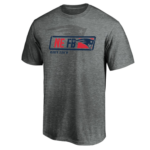 New England Patriots NFL Tricode Trainer T-Shirt
