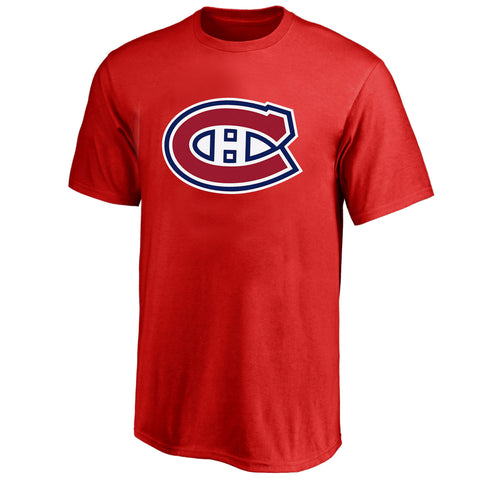 Men's Montreal Canadiens NHL Red Fan Tee