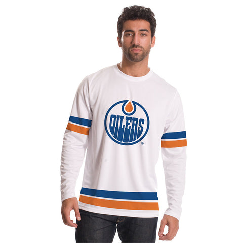 Edmonton Oilers Authentic Scrimmage Long Sleeve Shirt