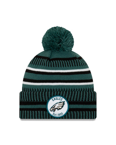 Philadelphia Eagles NFL New Era Sideline Home Official Cuffed Knit Toque
