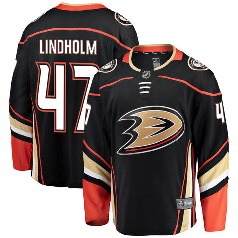 Hampus Lindholm Anaheim Ducks NHL Fanatics Breakaway Home Jersey