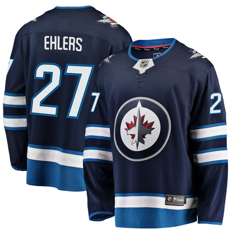 Nikolaj Ehlers Winnipeg Jets NHL Fanatics Breakaway Home Jersey
