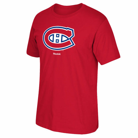Montreal Canadiens Short Sleeve Jersey Crest Tee