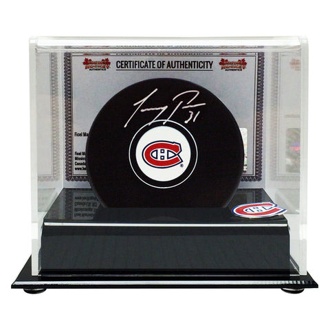 Carey Price Signed Montreal Canadiens Puck