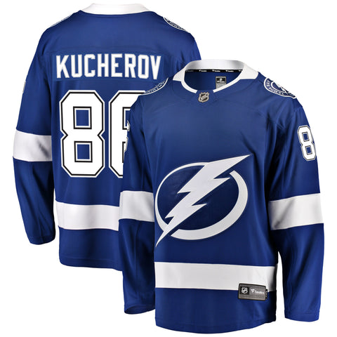 Nikita Kucherov Tampa Bay Lightning NHL Fanatics Breakaway Home Jersey