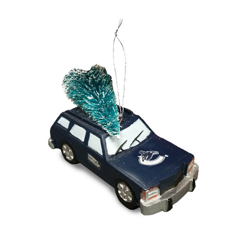 Vancouver Canucks NHL Station Wagon Tree Ornament