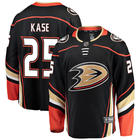 Ondrej Kase Anaheim Ducks NHL Fanatics Breakaway Home Jersey