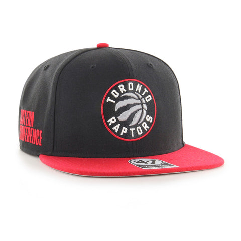 Men's Toronto Raptors NBA Sure Shot 2-Tone Eastern Conference Captain Cap