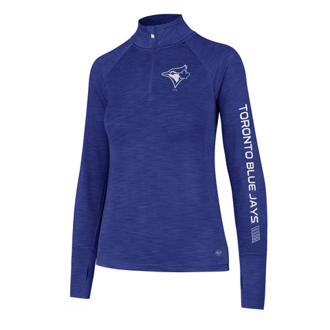 Ladies' Toronto Blue Jays MLB Forward Shade 1/4 Zip