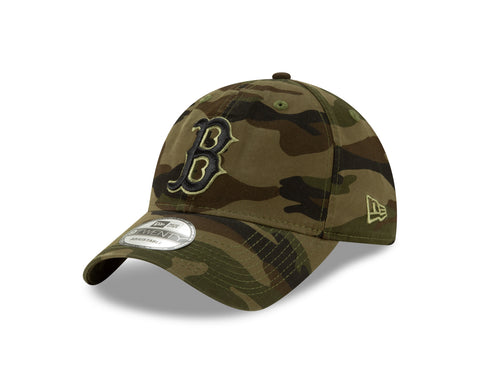 Men's Boston Red Sox MLB Core Classic Camouflage 9TWENTY Cap
