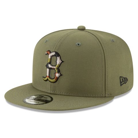 Boston Red Sox MLB Camo Trim 9FIFTY Cap