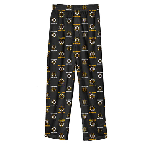 Youth Boston Bruins NHL Team Color Printed Pants