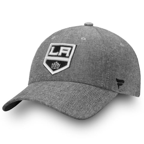 Los Angeles Kings NHL Chambray Fundamental Adjustable Cap