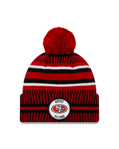 San Francisco 49ers NFL New Era Sideline Home Official Cuffed Knit Toque