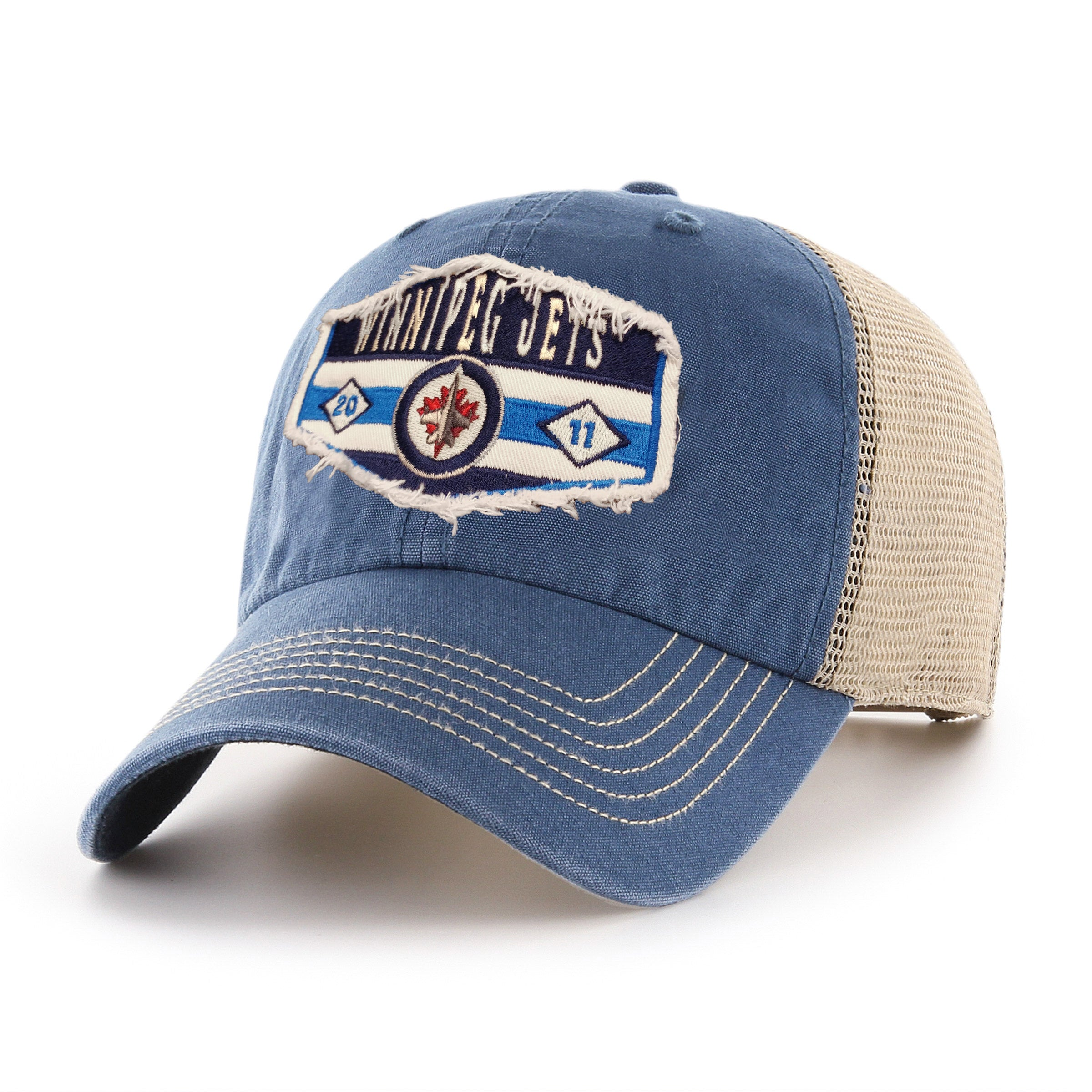 St Luis Blues Blue//Gold NHL Snapback Hat American Needle Licensed New Cap
