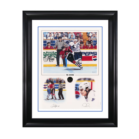 Tie Domi – Signed Toronto Maple Leafs Limited Edition Print