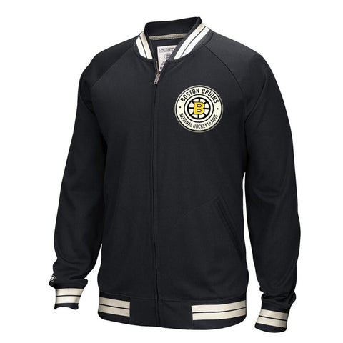 Boston Bruins CCM Full-Zip Jacket