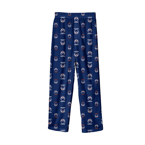Youth Edmonton Oilers NHL Team Colored Printed Pant