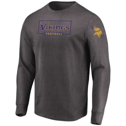 Minnesota Vikings NFL Kick Return Long Sleeve Tee