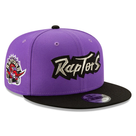 Men's Toronto Raptors NBA Authentics Hardwood Classic Purple 9FIFTY Cap