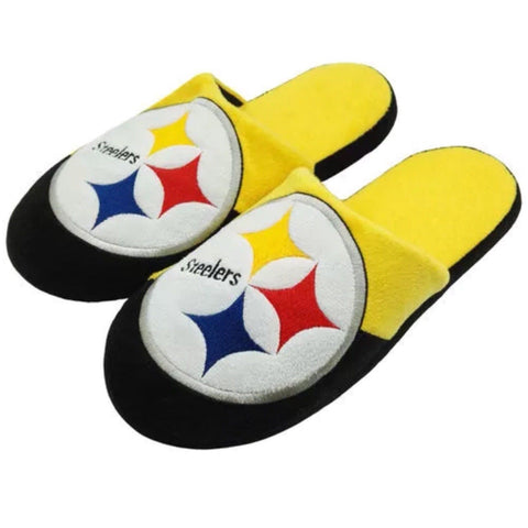 Pittsburgh Steelers NFL Big Logo Slippers