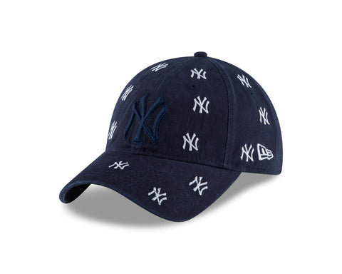 Women's New York Yankees MLB Logo Scatter 9TWENTY Cap
