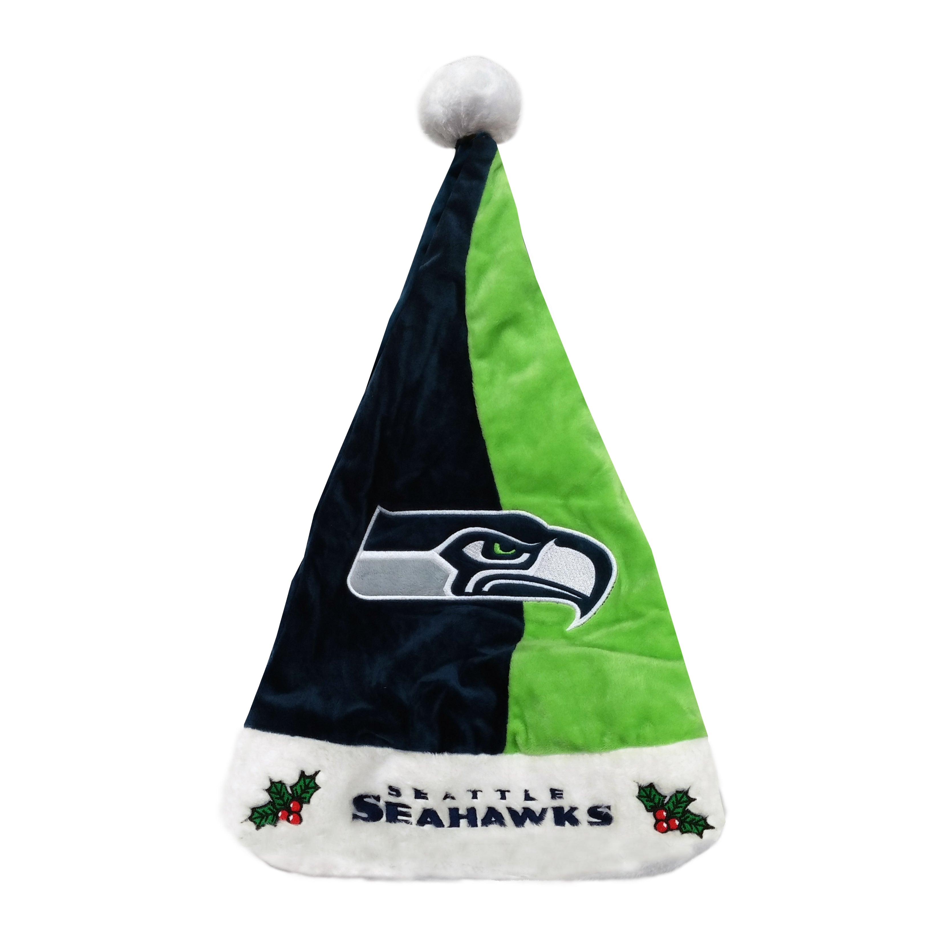 662349c7daa8d Seattle Seahawks Colorblock Santa Hat – Sport Army