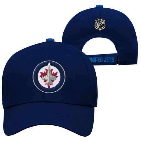 Youth Winnipeg Jets NHL Basic Structured Adjustable Cap