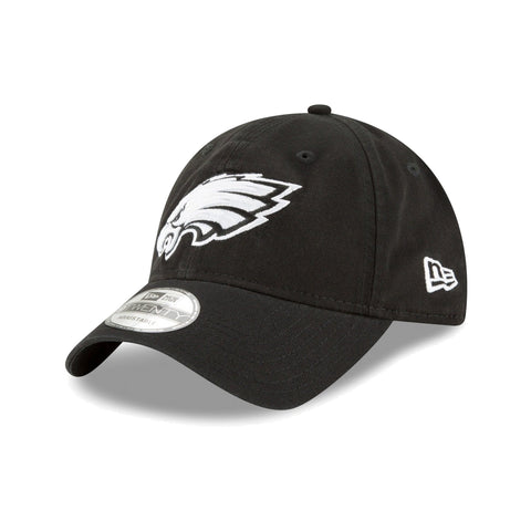 Philadelphia Eagles NFL Core Classic White On Black 9TWENTY Cap