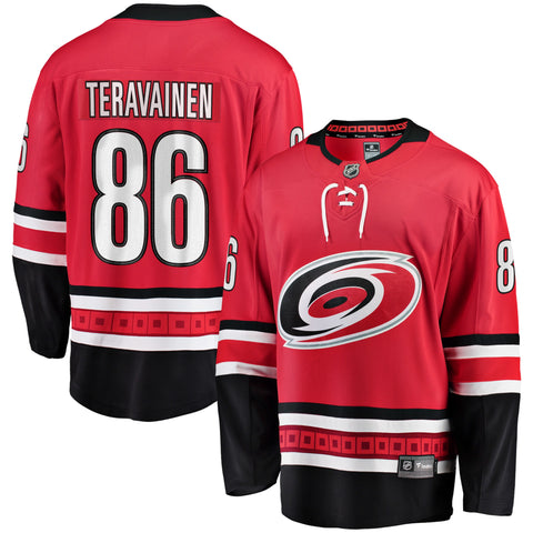 Teuvo Teravainen Carolina Hurricanes NHL Fanatics Breakaway Home Jersey