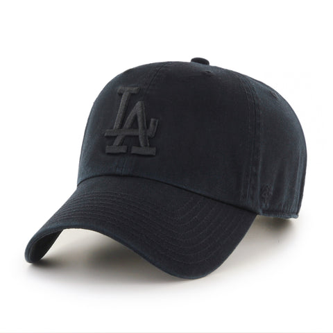 Los Angeles Dodgers MLB Clean Up Black Cap