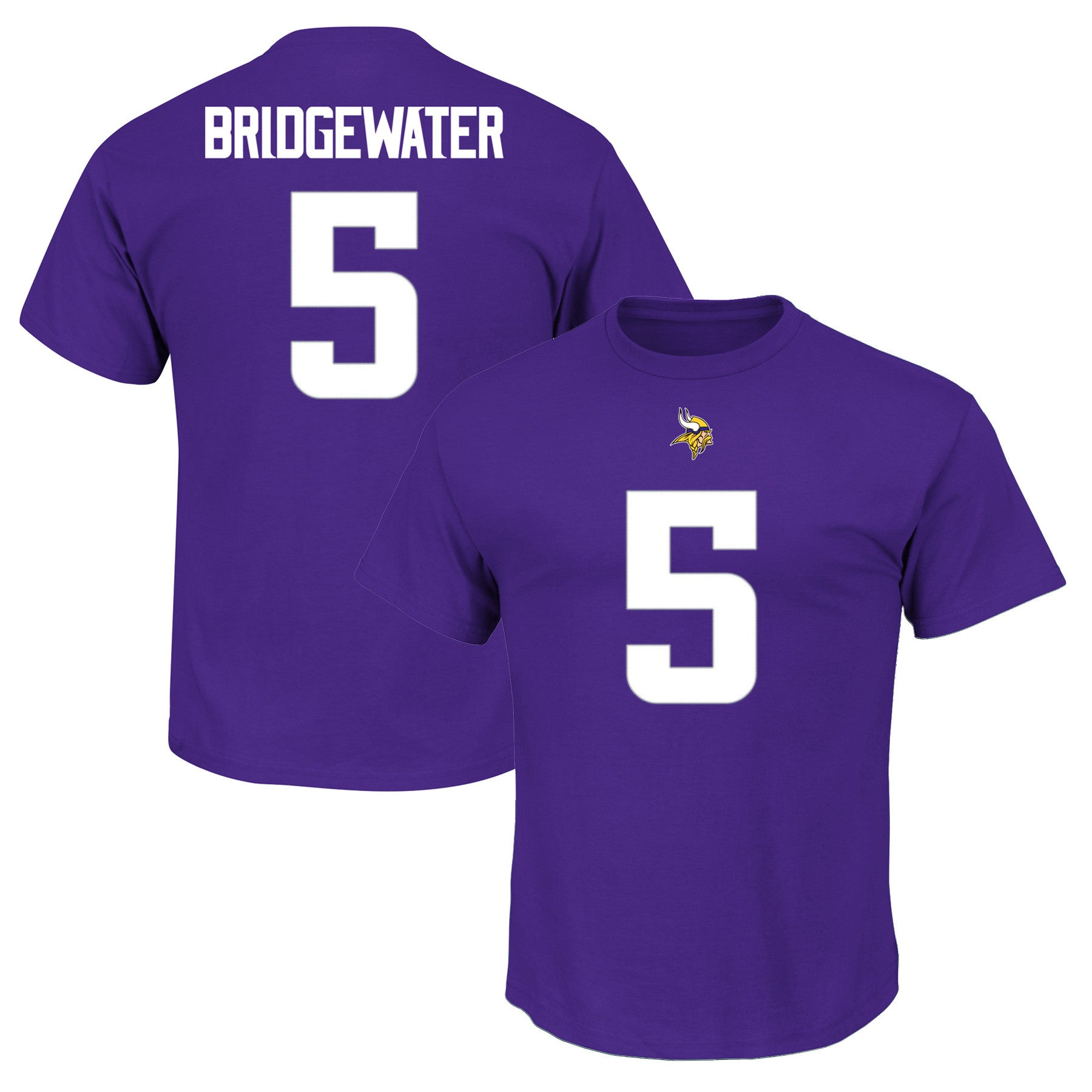 new arrival ebde3 2e464 Minnesota Vikings Teddy Bridgewater #5 Eligible Receiver III T-Shirt