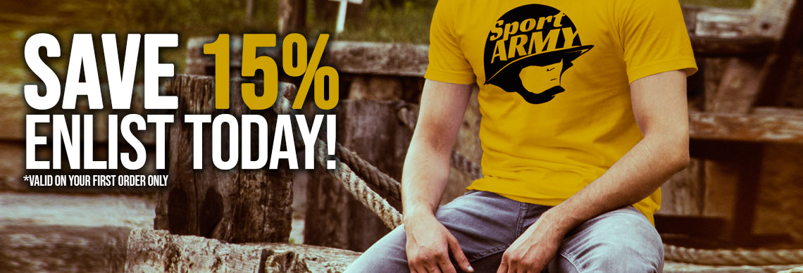 JOIN SPORT ARMY TODAY & SAVE!