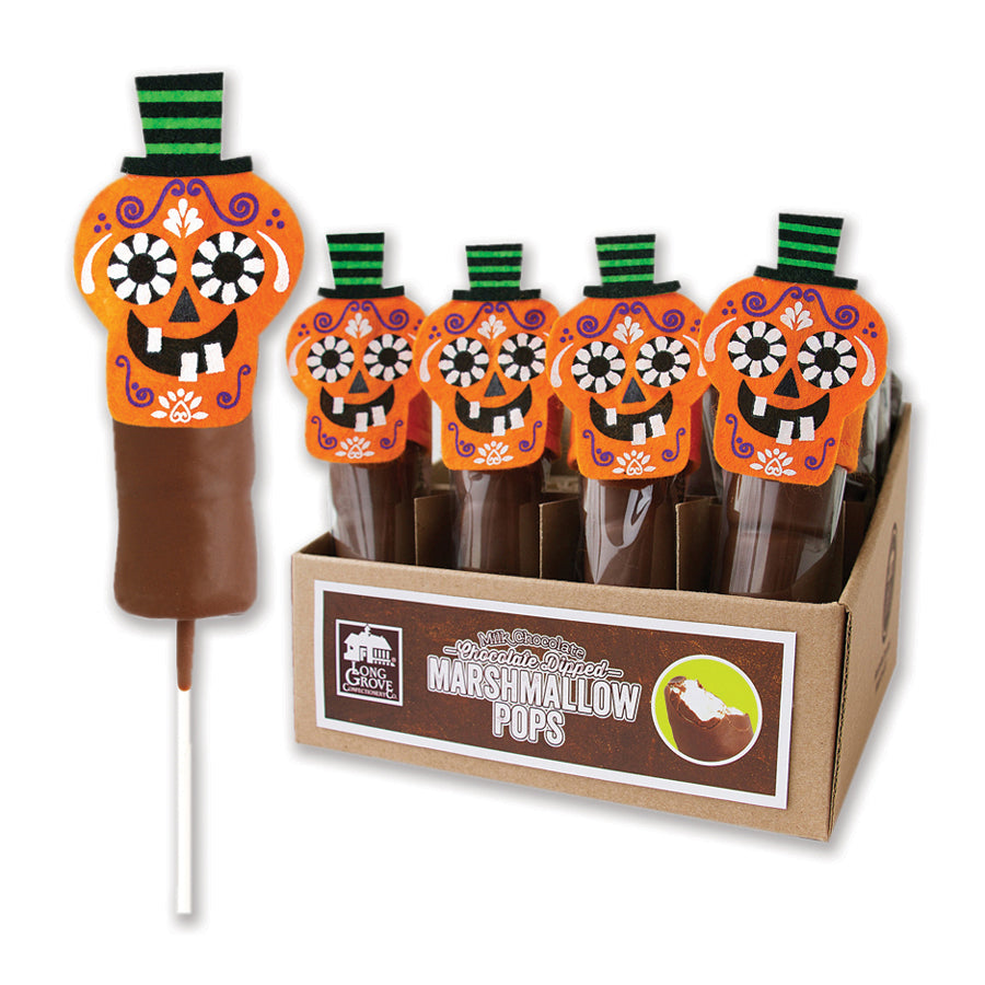 Halloween Marshmallow Pops (Case of 20)