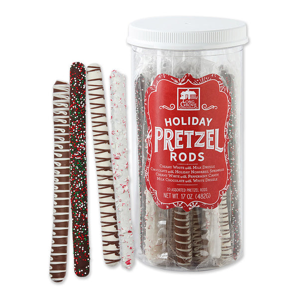 Assorted Chocolate covered Pretzel Rods