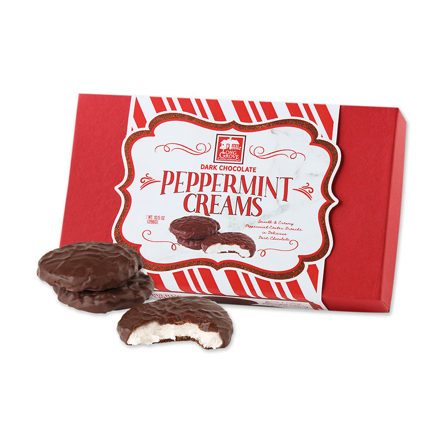 Dark Chocolate Peppermint Creams