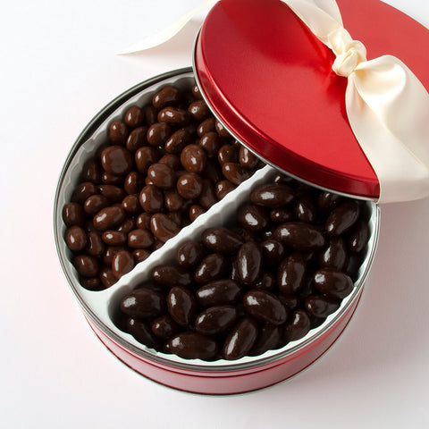 Chocolate Fruit & Nut Tin (2 lbs.)