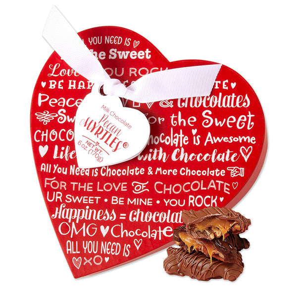 ♥ I Heart Chocolate... Myrtles, Caramels and Cookies ♥