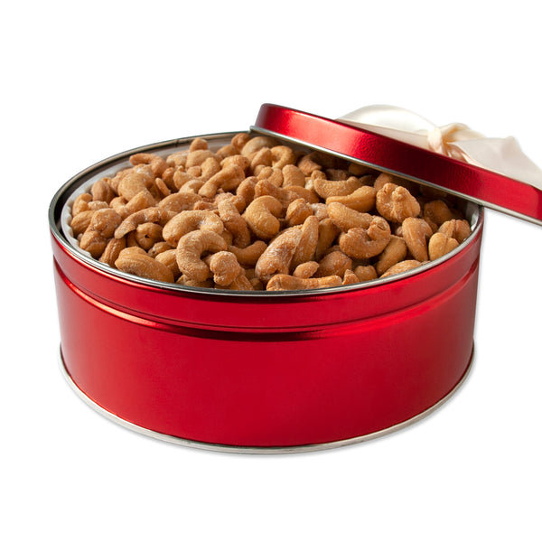 Sweet Red Cashews Tin