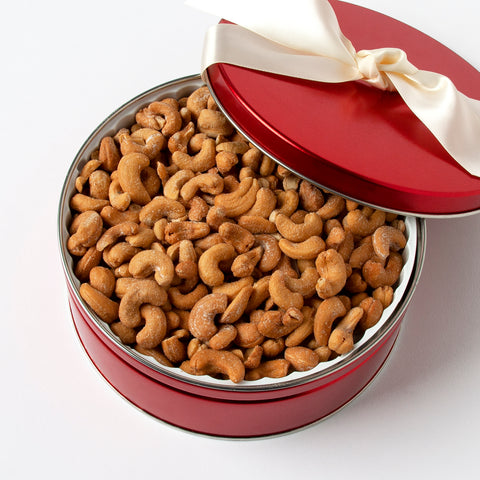 Sweet Red Cashews Tin (28 oz.)